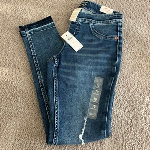 NWT girls Justice Leggings Jeans